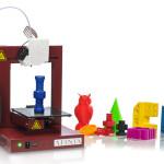 Afinia 3D Printer and Prints